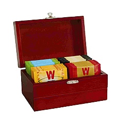 Royal Tea Chest of 4 Assorted Flavours