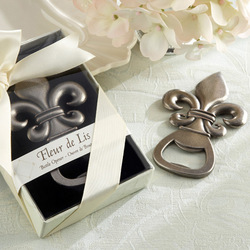 Fleur de Lis Pewter-Finish Bottle Opener