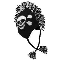 Skull Mohawk Hat