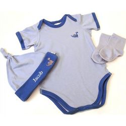 Baby Boy Organic Layette Set