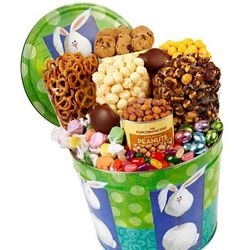 Bobble Bunny Snack Assortment Gift Tin