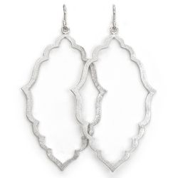 Always Beautiful Moroccan Silver Earrings