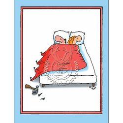 Nail Bed Humor Anniversary Greeting Card