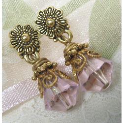 Light Pink Petite Drop Earrings
