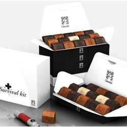 Survival Kit zBox 60 French Chocolates Gift Box