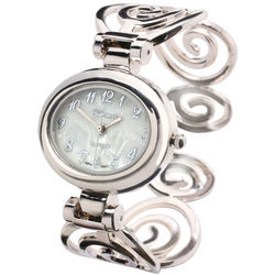 Scroll Band Cuff Watch