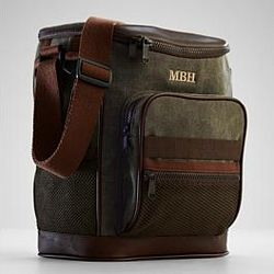Waxed Canvas Golf Cooler Bag