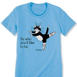 Edward Gorey Be Who You'd Like To Be T-Shirt