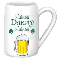Personalized Slainte Beer Stein