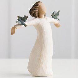Bluebird Happiness Willow Tree Figurine