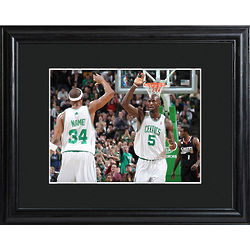 Personalized Boston Celtics Print