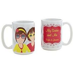 Woman to Woman Personalized Relationship Mug