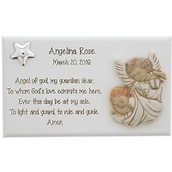 Personalized Guardian Angel Plaque