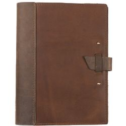 Leather Composition Cover with Buckle