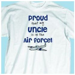 Youth Proud Air Force T-Shirt