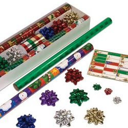 Classic Holiday Gift Wrap Pack
