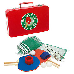 Dining Table Ping Pong Set