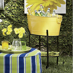 Party Tub Cooler with Stand
