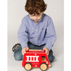 Plywood Fire Engine Toy