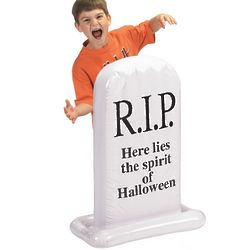 Inflatable Halloween Tombstone