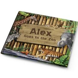 Personalized Goes to the Zoo Book
