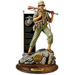 United States Marine Corps Pride World War II Sculpture