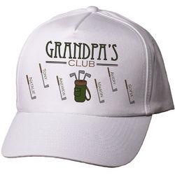 Personalized Golf Club Hat