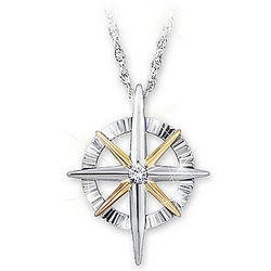 Granddaughter's Light of Faith Diamond Pendant