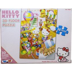 Hello Kitty 3D Floor Puzzle