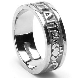 Women's Sterling Silver Mo Anam Cara Ring