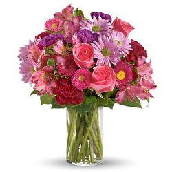 Evening Blush Flower Bouquet