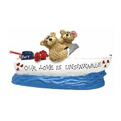Romance is Unsinkable Teddy Bear Boat