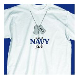 I'm a Navy Kid Youth T-Shirt
