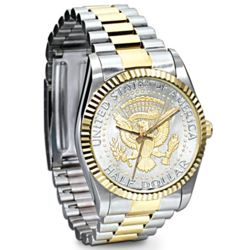 John F. Kennedy Half Dollar Presidential Men's Watch