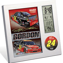 Jeff Gordon #24 Desk Clock