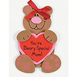 Mom Bear Magnet Craft Kit