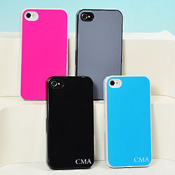 Personalized Solid Color iPhone Case