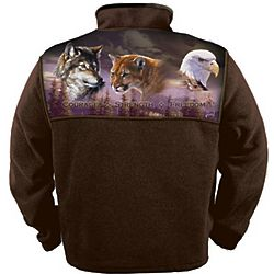 Men's Wilderness Spirit Fleece Jacket