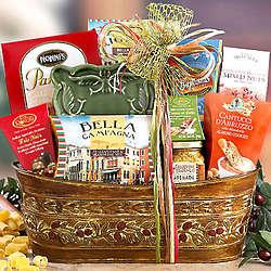 Italian Gourmet Food Gift Basket