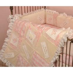 Heaven Sent 4 Piece Crib Bedding Set