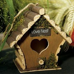 Mini Wooden Bird Houses