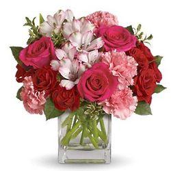 Pink Passion Flower Bouquet