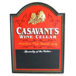 Wine Cellar Personalized Chalkboard