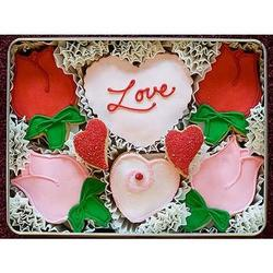 With All My Love Sugar Cookie Gift Tin
