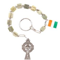"""Connemara Marble """"An Paidrin Beag"""" Rosary"""