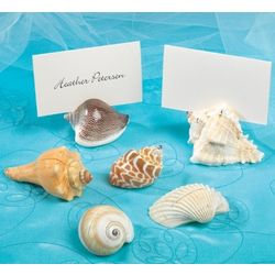 Sea Shell Wedding Place Card Holders