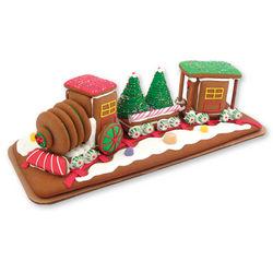 Gingerbread Christmas Train