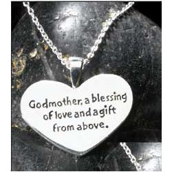 Sterling Silver Godmother Necklace