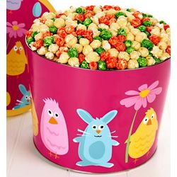 2 Gallon Easter Friends Popcorn Tin
