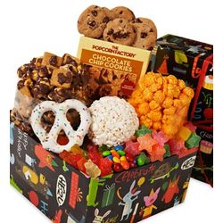 Birthday Candy and Popcorn Gift Box